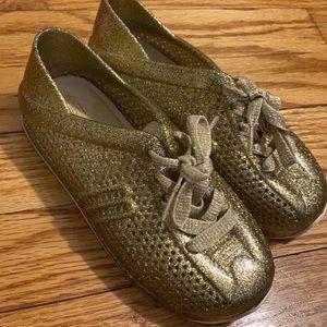 Mini Melissa Sneakers - Gold